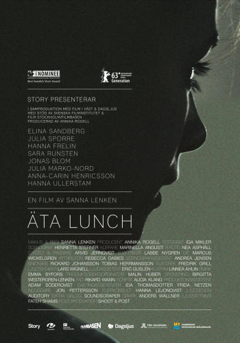 Eating Lunch Poster