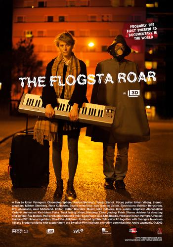 The Flogsta Roar Poster